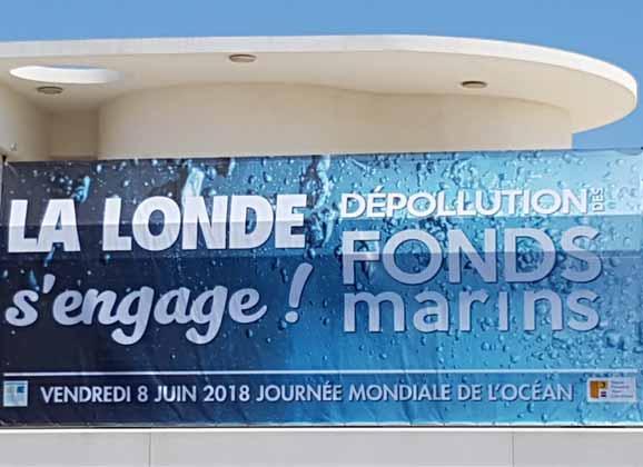 La Londe s'engage pour la propreté des fonds marins